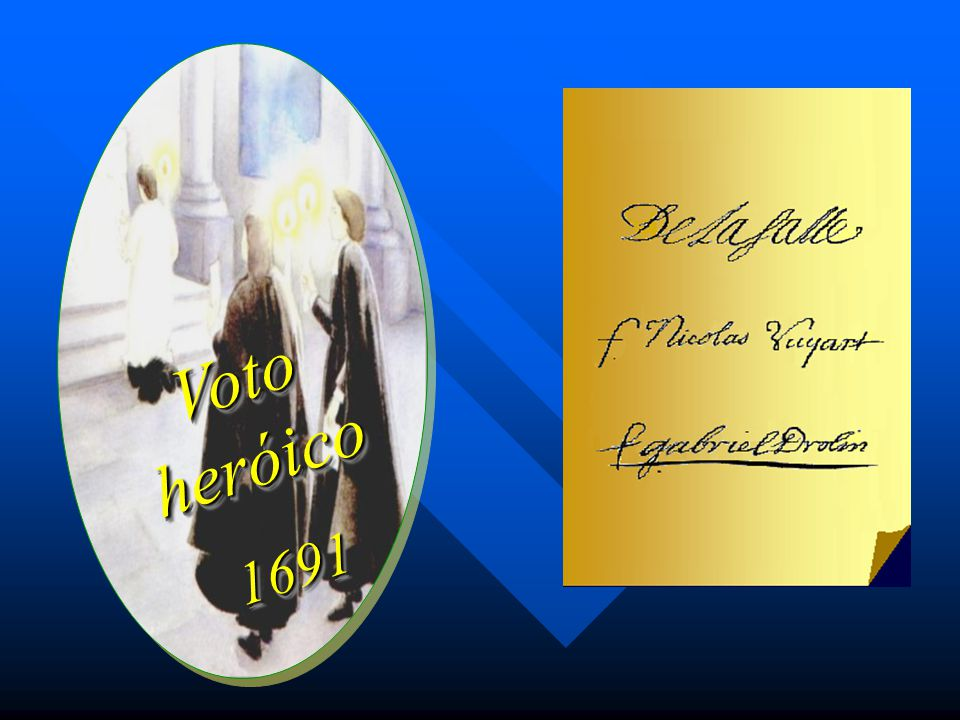 Voto heróico 1691
