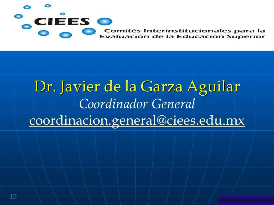 Dr. Javier de la Garza Aguilar