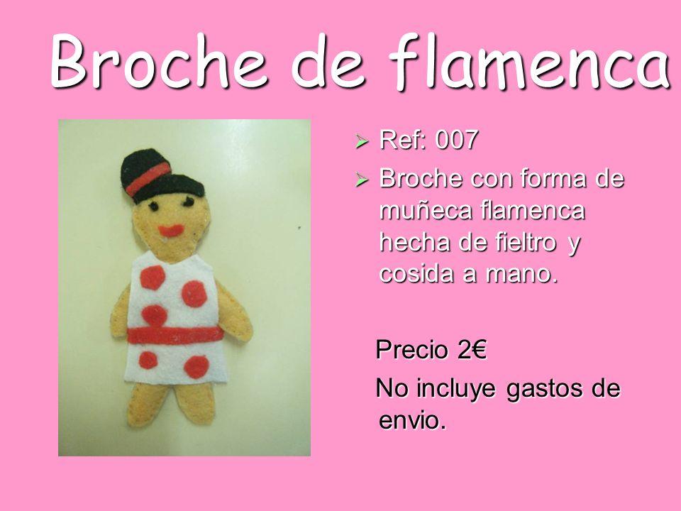 Broche de flamenca Ref: 007