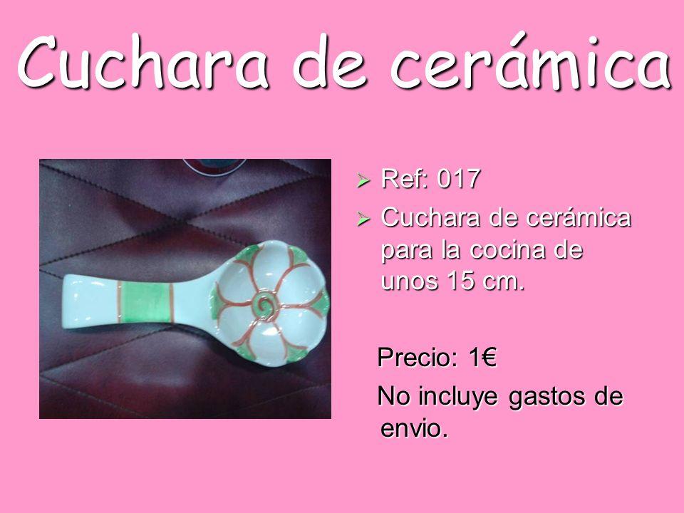Cuchara de cerámica Ref: 017