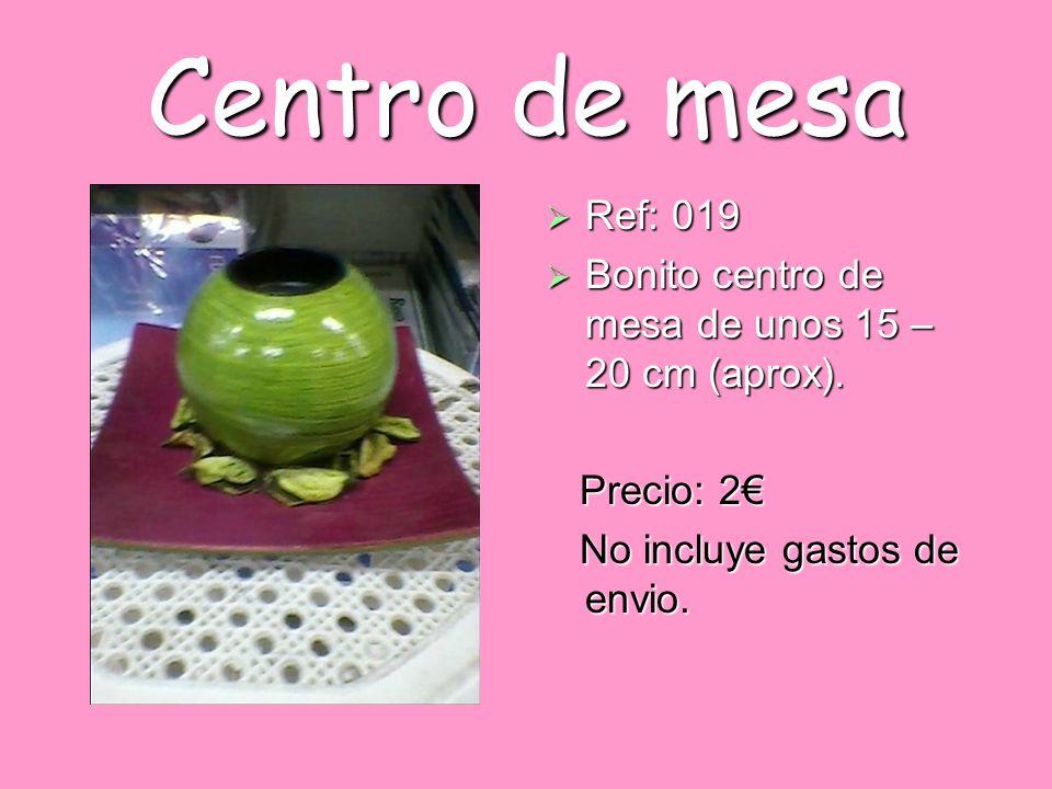 Centro de mesa Ref: 019. Bonito centro de mesa de unos 15 – 20 cm (aprox).