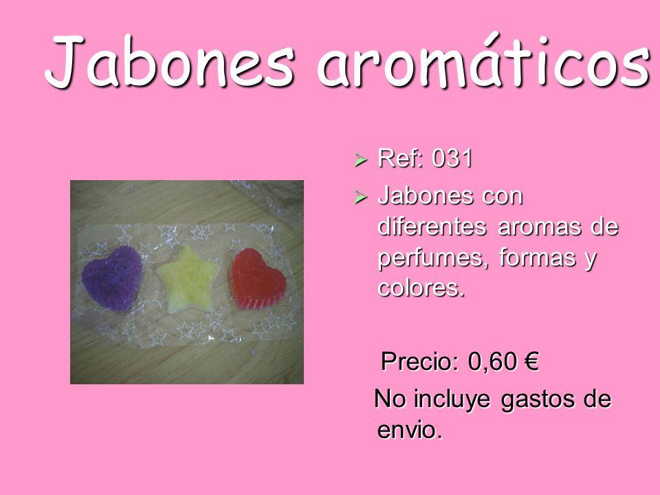Jabones aromáticos Ref: 031
