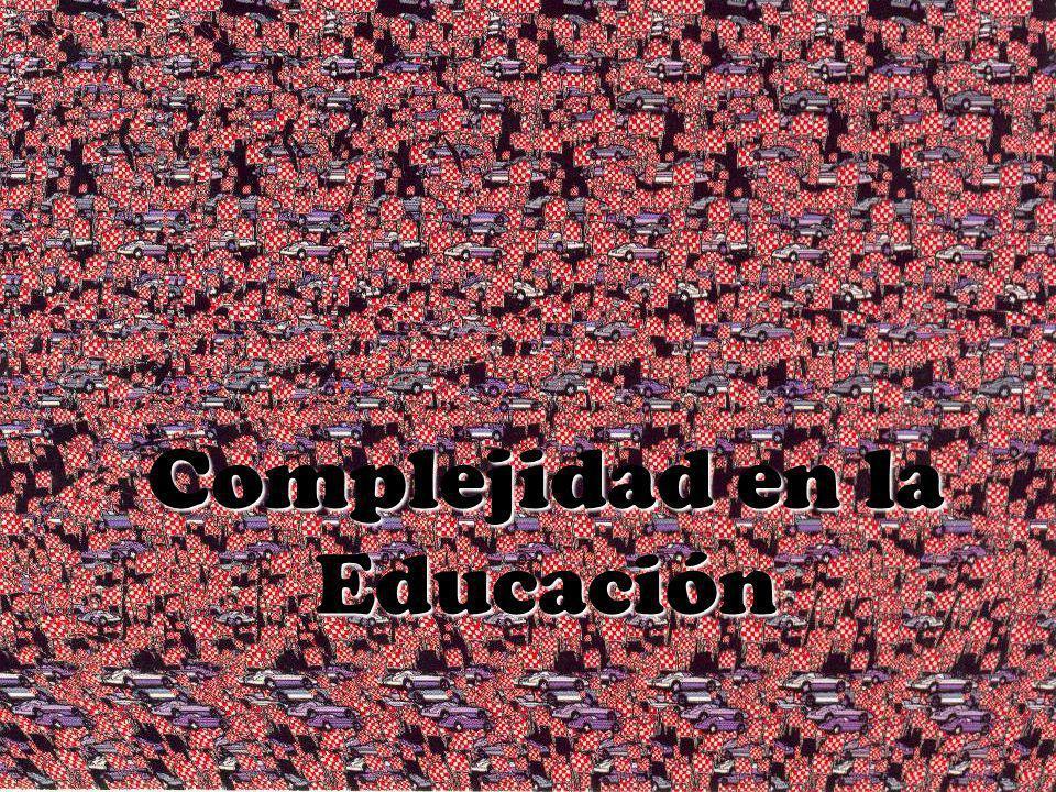 Complejidad en la Educación