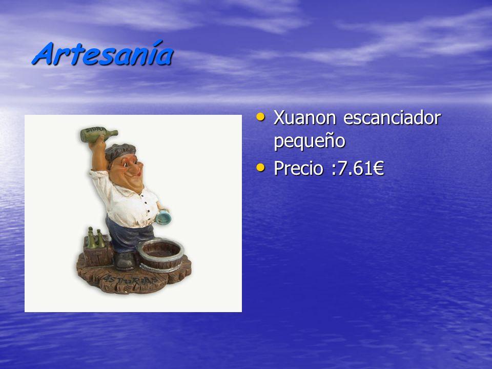 Artesanía Xuanon escanciador pequeño Precio :7.61€