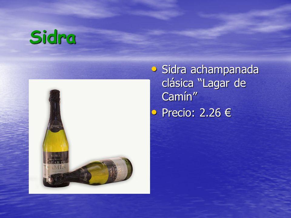 Sidra Sidra achampanada clásica Lagar de Camín Precio: 2.26 €