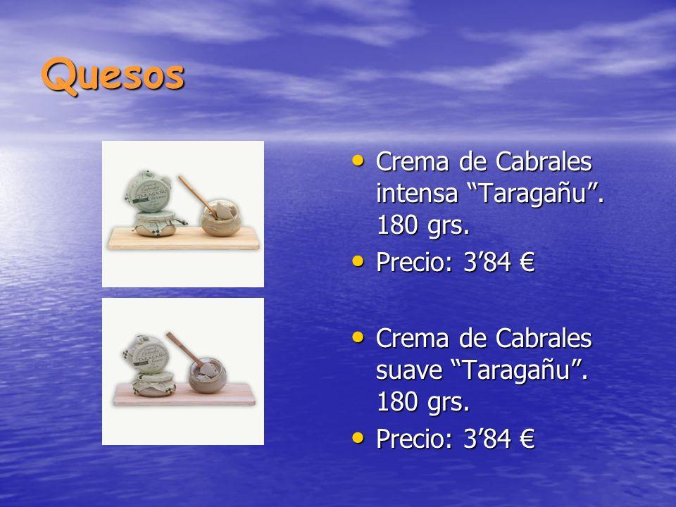 Quesos Crema de Cabrales intensa Taragañu . 180 grs. Precio: 3'84 €