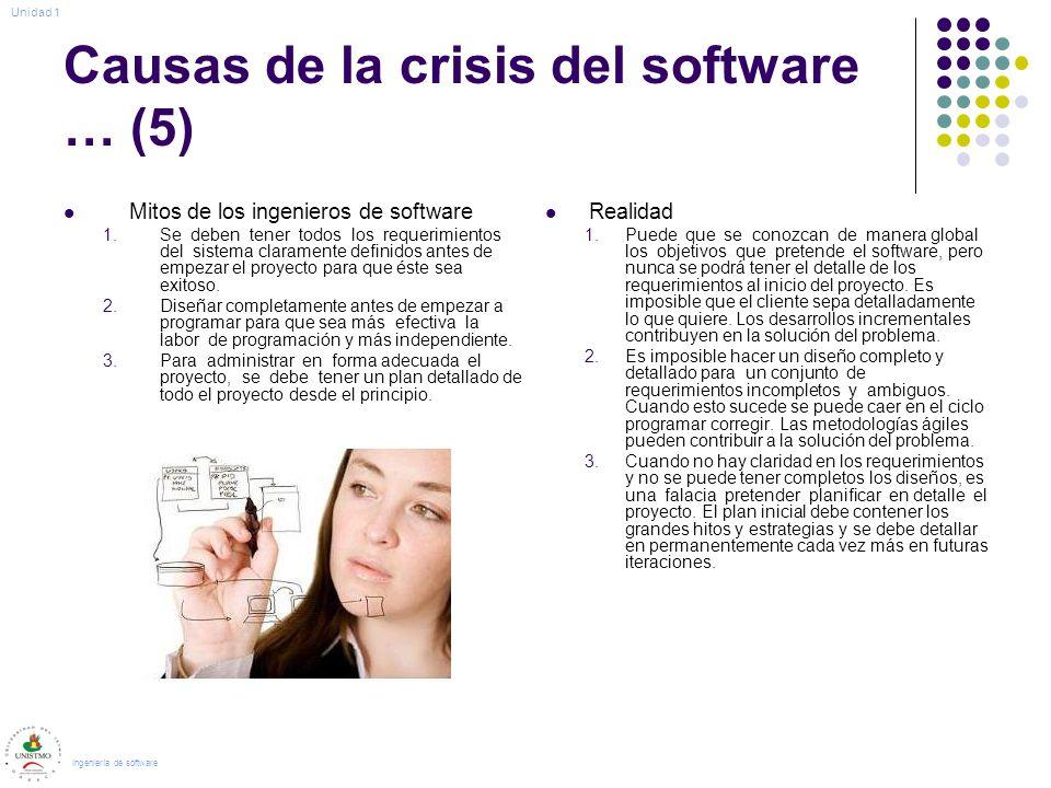 Causas de la crisis del software … (5)