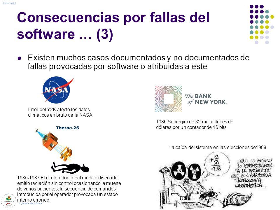 Consecuencias por fallas del software … (3)