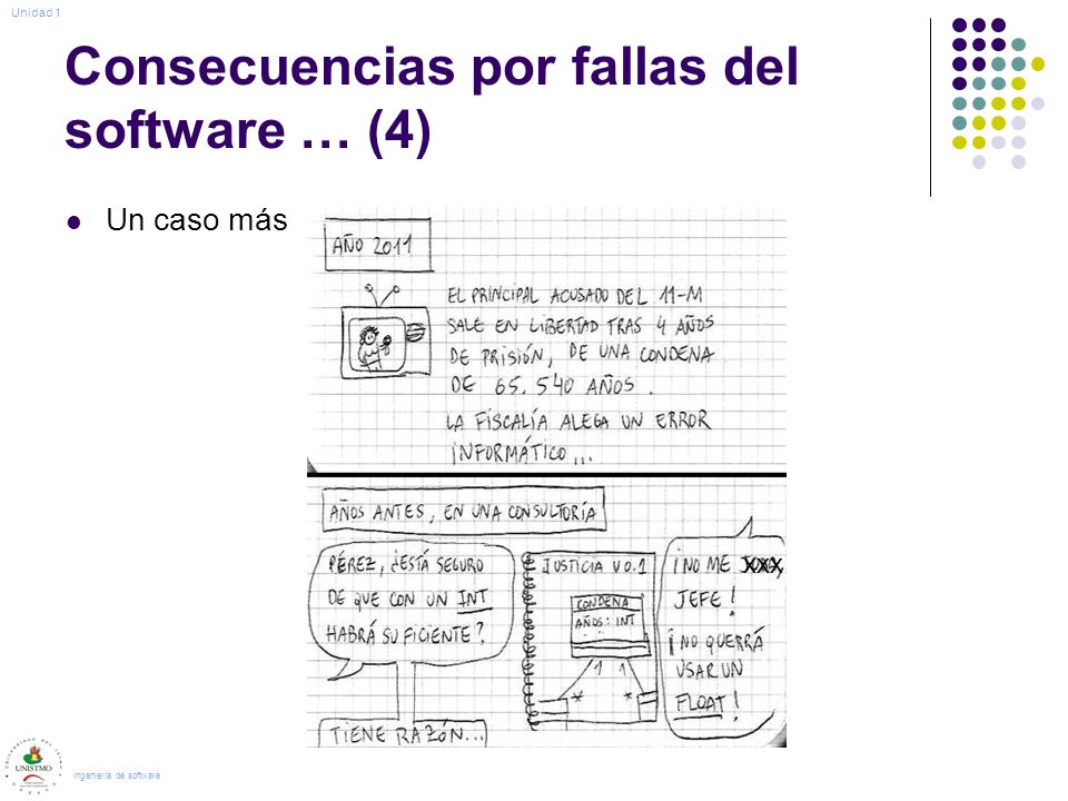 Consecuencias por fallas del software … (4)