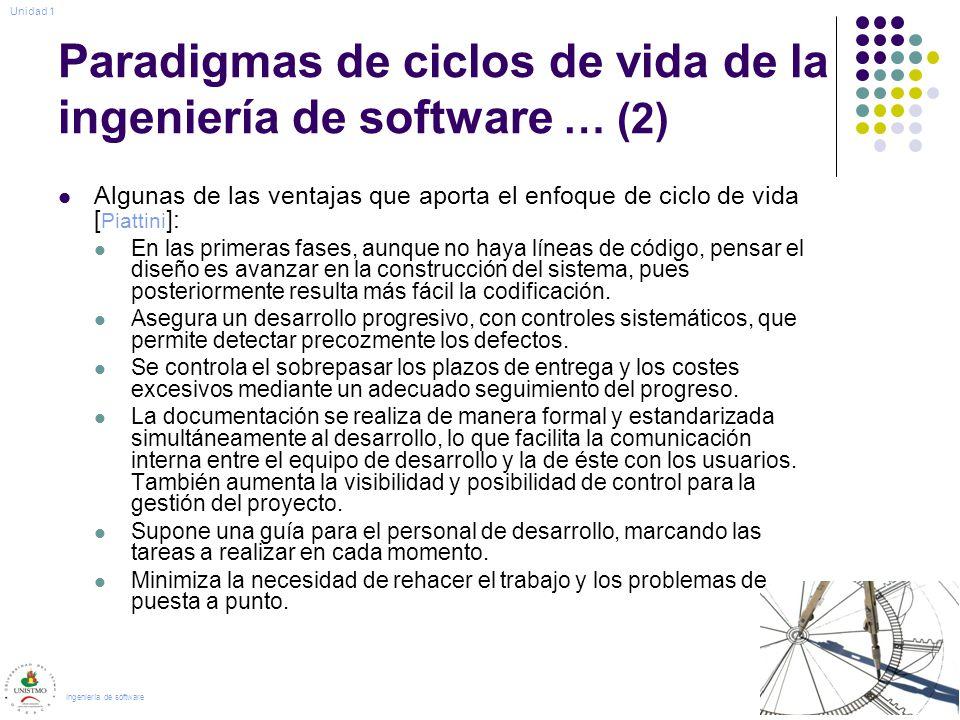 Paradigmas de ciclos de vida de la ingeniería de software … (2)