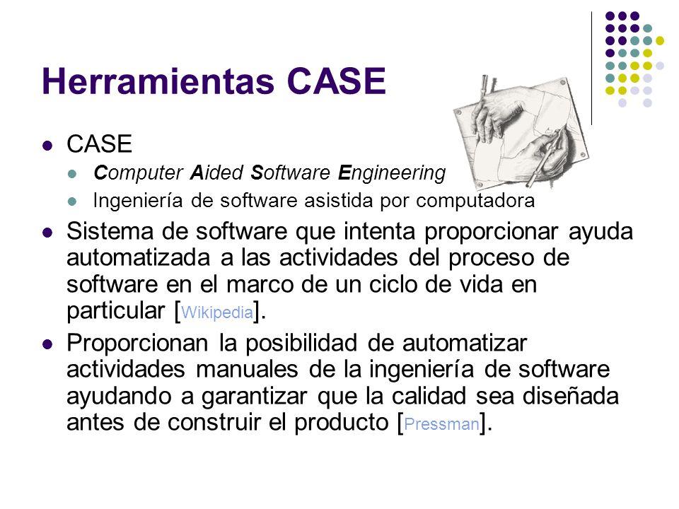 Herramientas CASE CASE