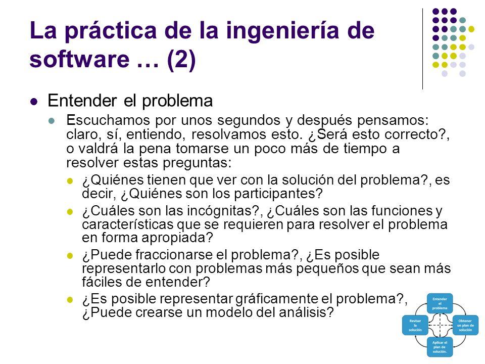 La práctica de la ingeniería de software … (2)