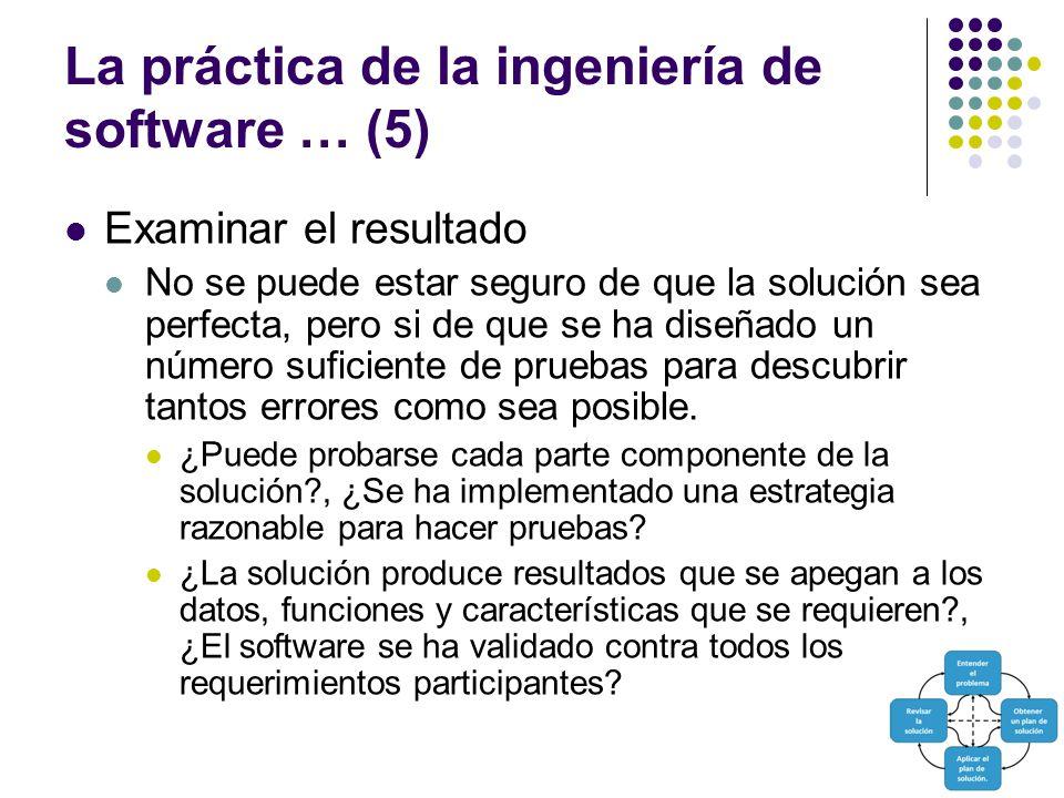 La práctica de la ingeniería de software … (5)