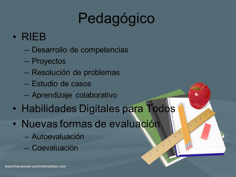 Pedagógico RIEB Habilidades Digitales para Todos