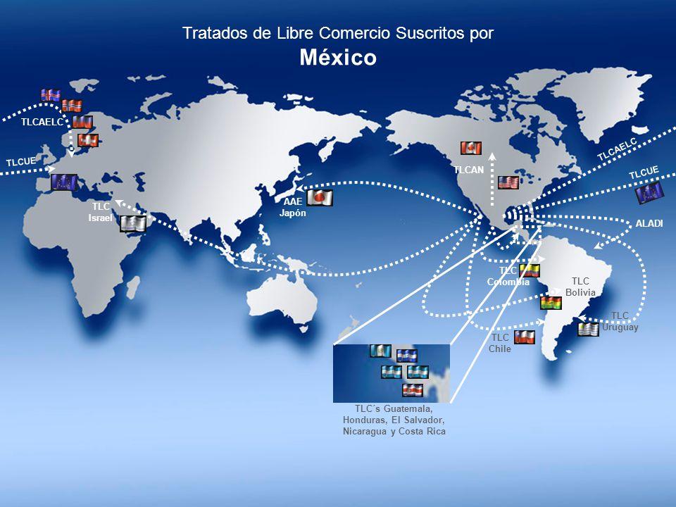TLC´s Guatemala, Honduras, El Salvador, Nicaragua y Costa Rica