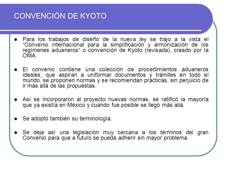 CONVENCIÓN DE KYOTO