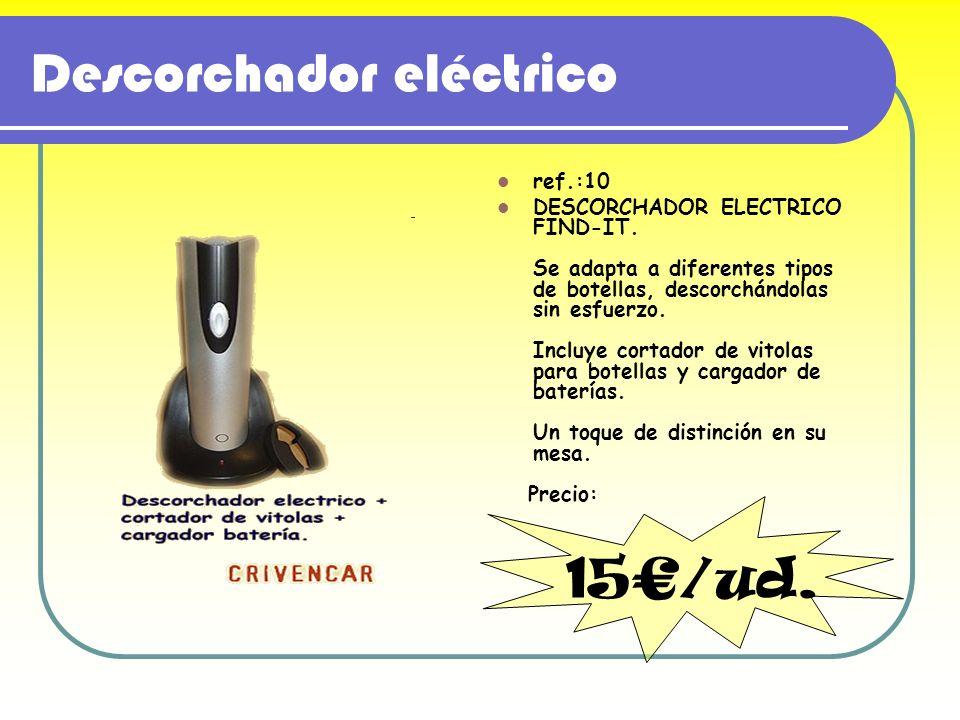 Descorchador eléctrico