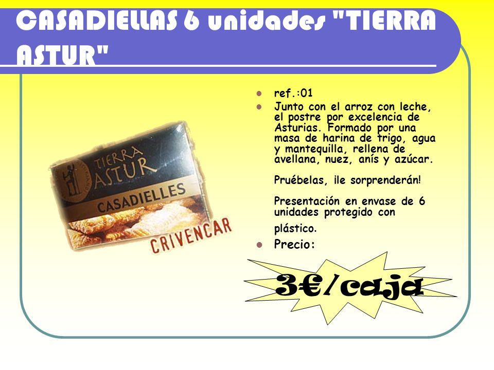 CASADIELLAS 6 unidades TIERRA ASTUR