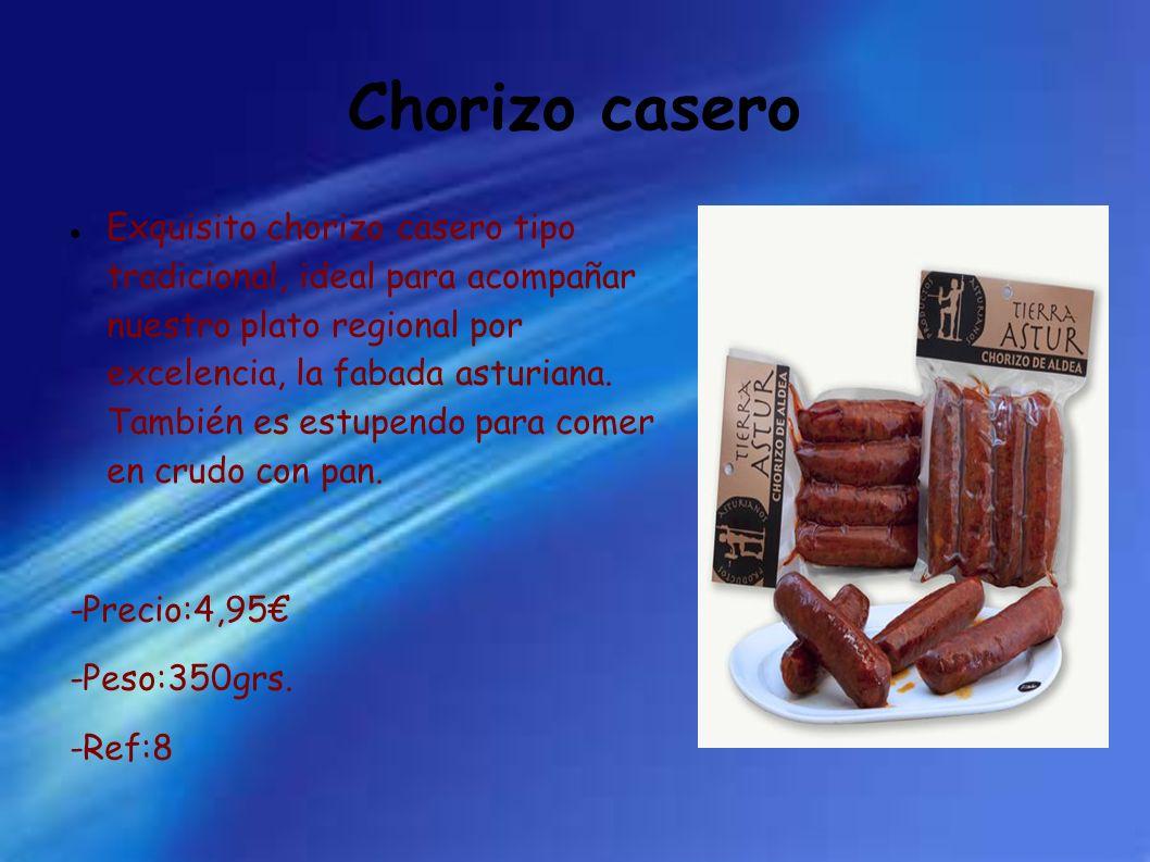 Chorizo casero