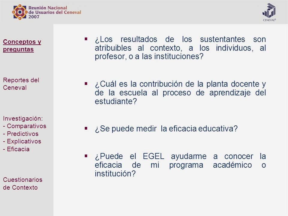 ¿Se puede medir la eficacia educativa