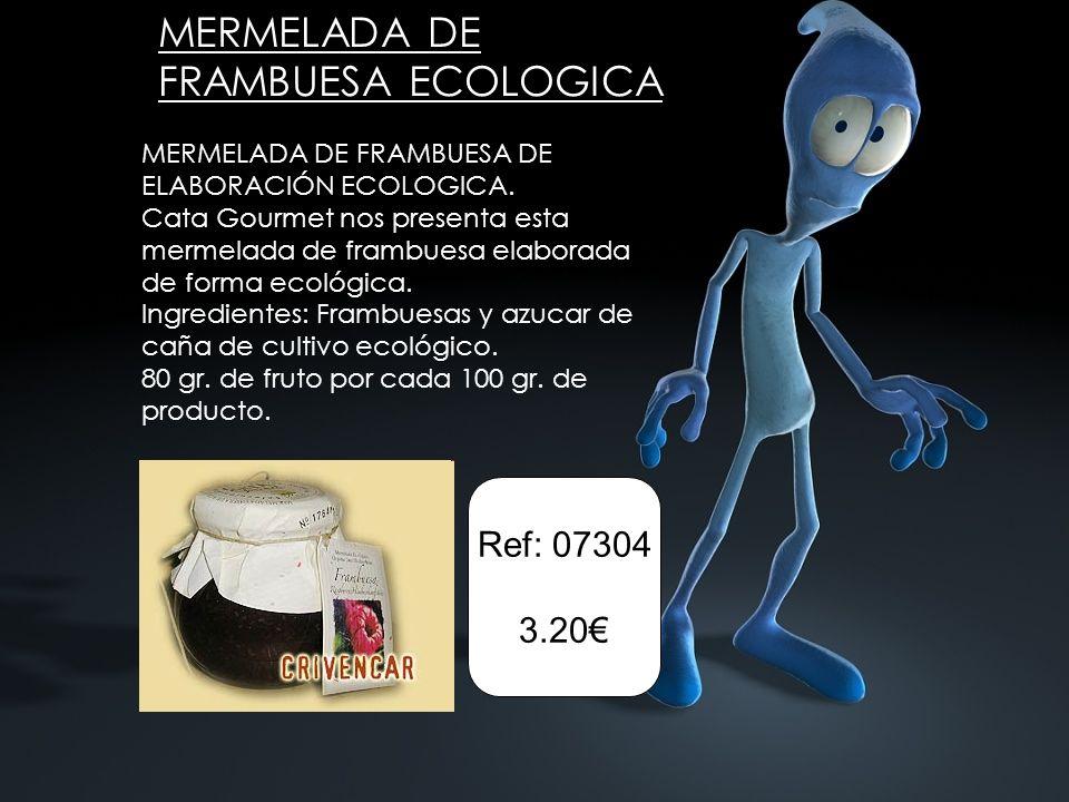 MERMELADA DE FRAMBUESA ECOLOGICA