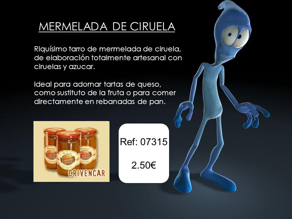MERMELADA DE CIRUELA Ref: 07315 2.50€