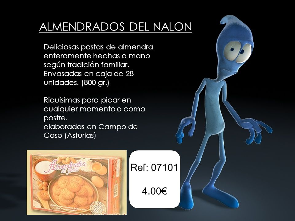 ALMENDRADOS DEL NALON Ref: 07101 4.00€