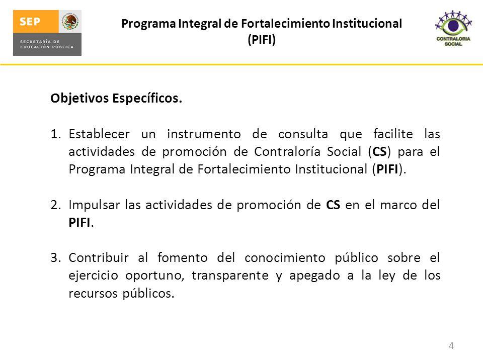 Programa Integral de Fortalecimiento Institucional