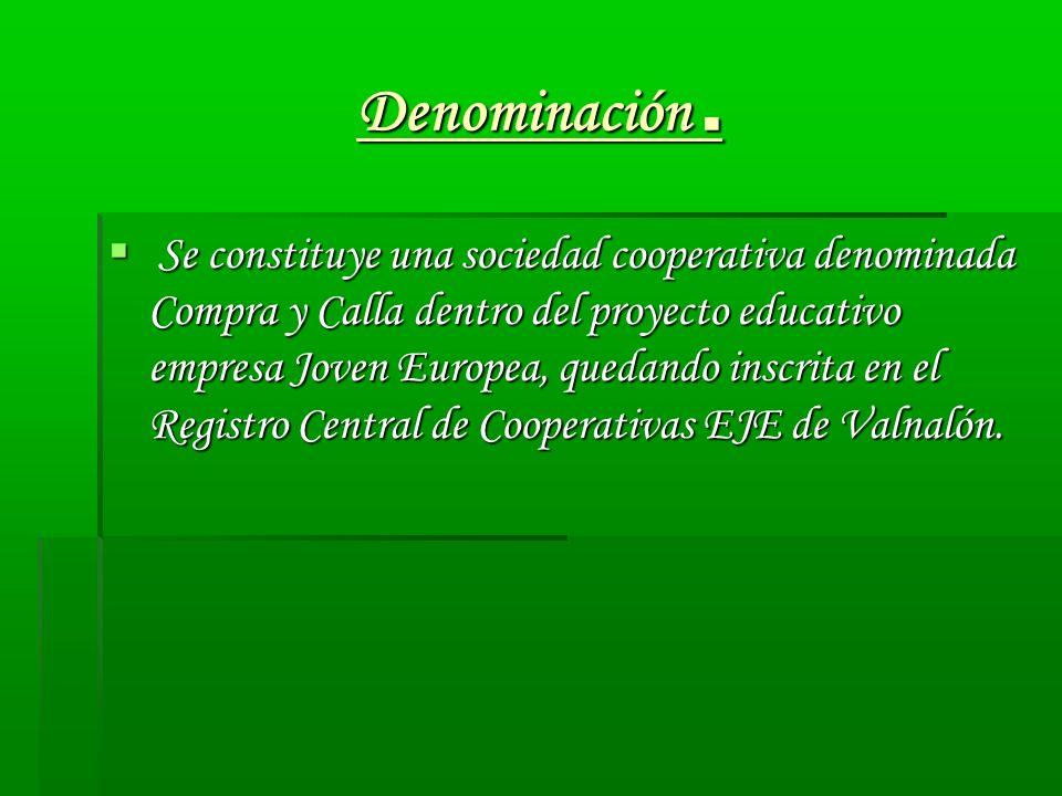 Denominación .