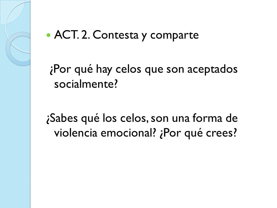 ACT. 2. Contesta y comparte