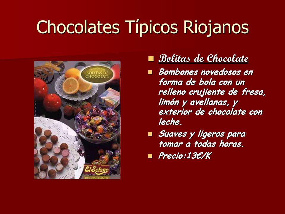 Chocolates Típicos Riojanos