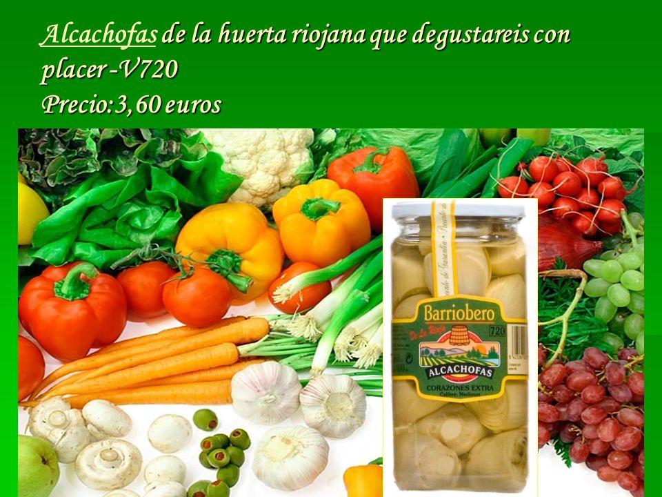 Alcachofas de la huerta riojana que degustareis con placer -V720 Precio:3,60 euros