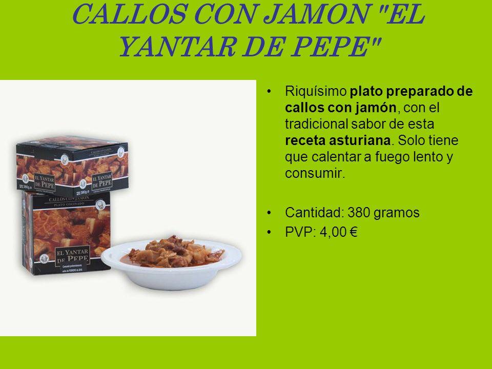 CALLOS CON JAMON EL YANTAR DE PEPE