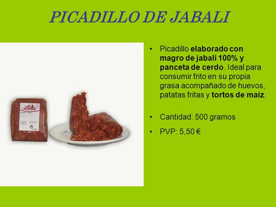 PICADILLO DE JABALI