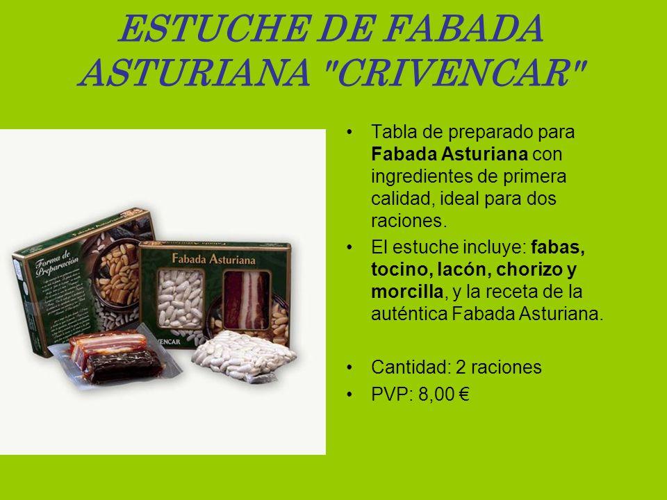 ESTUCHE DE FABADA ASTURIANA CRIVENCAR