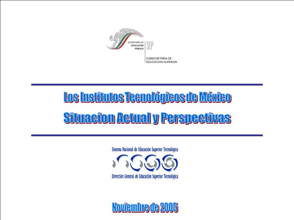 Los Institutos Tecnológicos de México Situacion Actual y Perspectivas