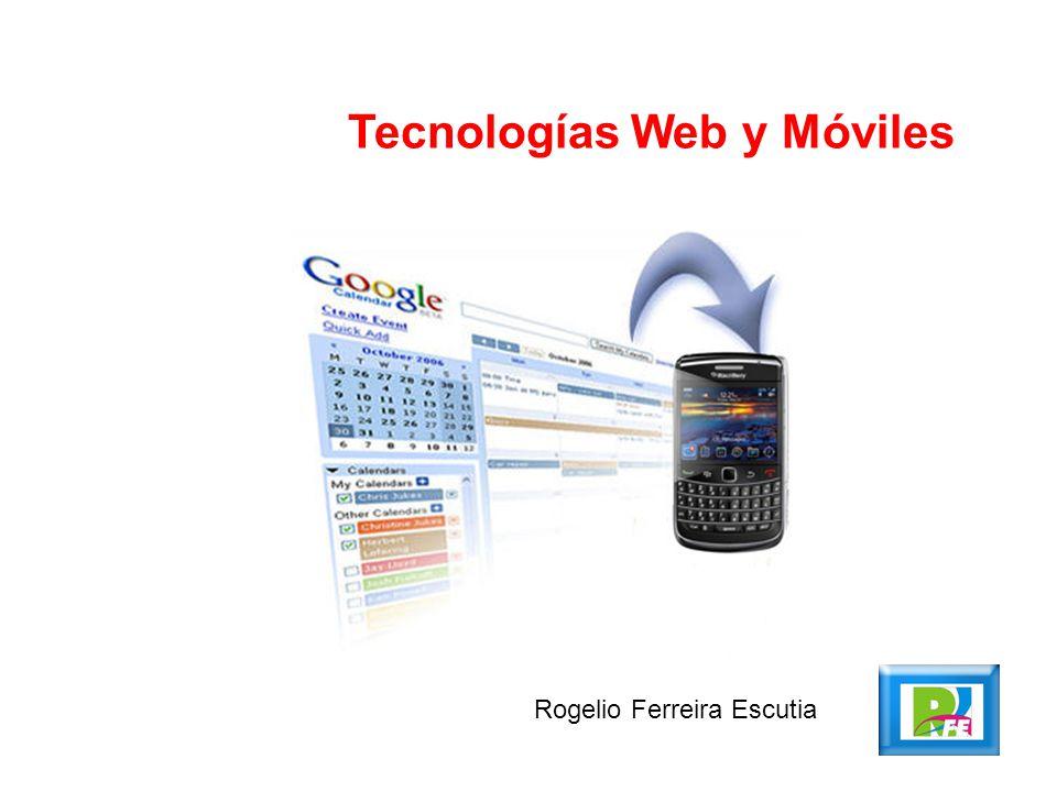 Tecnologías Web y Móviles