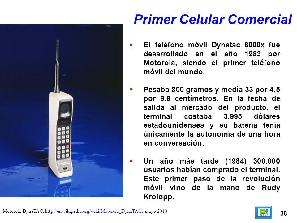 Primer Celular Comercial