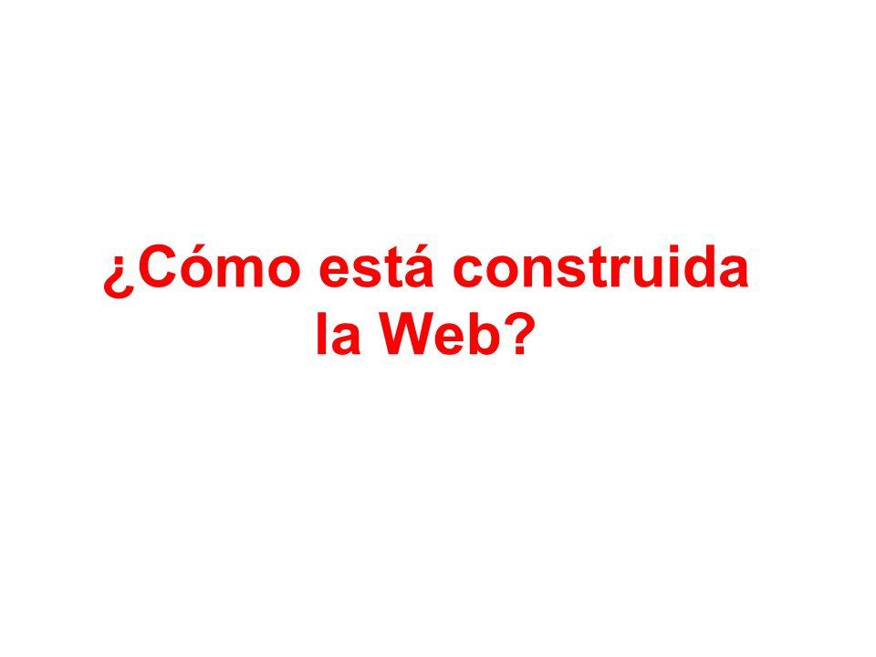 ¿Cómo está construida la Web