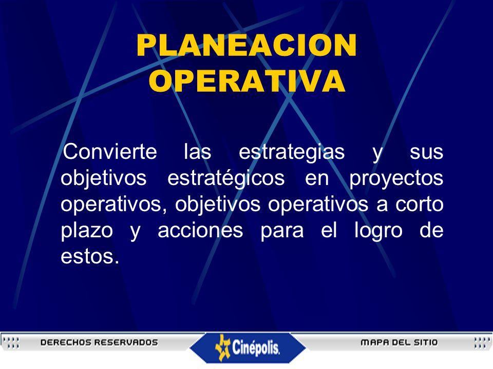 PLANEACION OPERATIVA