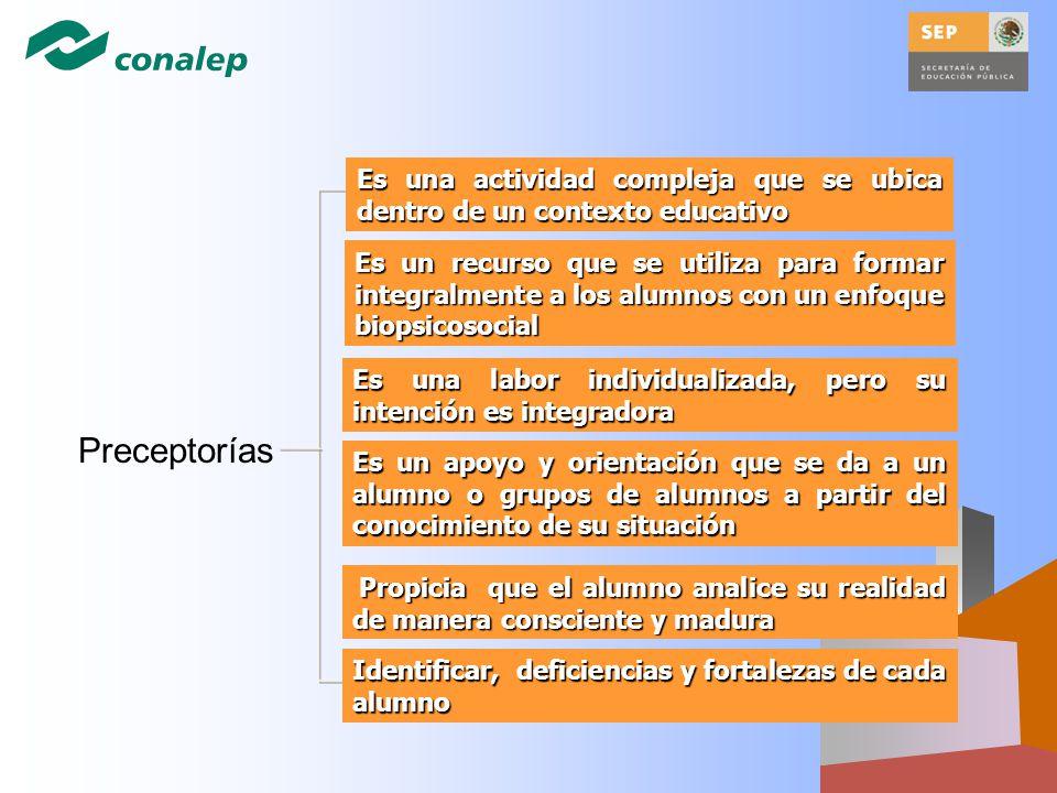 Es un recurso que se utiliza para formar integralmente a los alumnos con un enfoque biopsicosocial