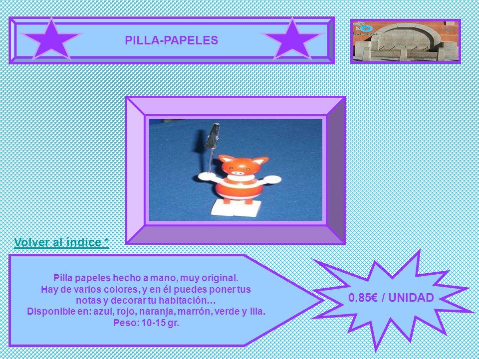 PILLA-PAPELES FOTOGRAFÍA 0.85€ / UNIDAD