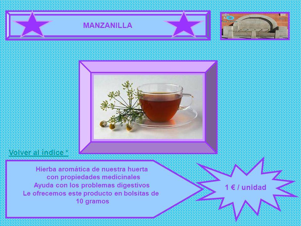 MANZANILLA FOTOGRAFÍA 1 € / unidad