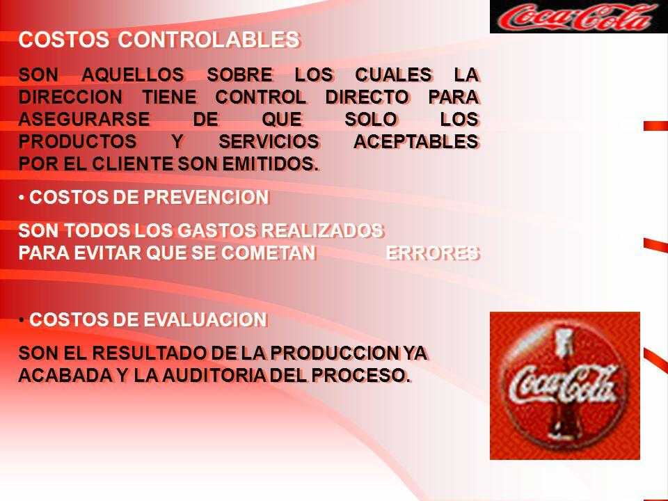 COSTOS CONTROLABLES