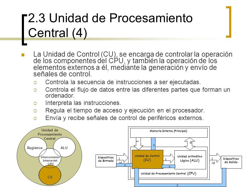 2.3 Unidad de Procesamiento Central (4)