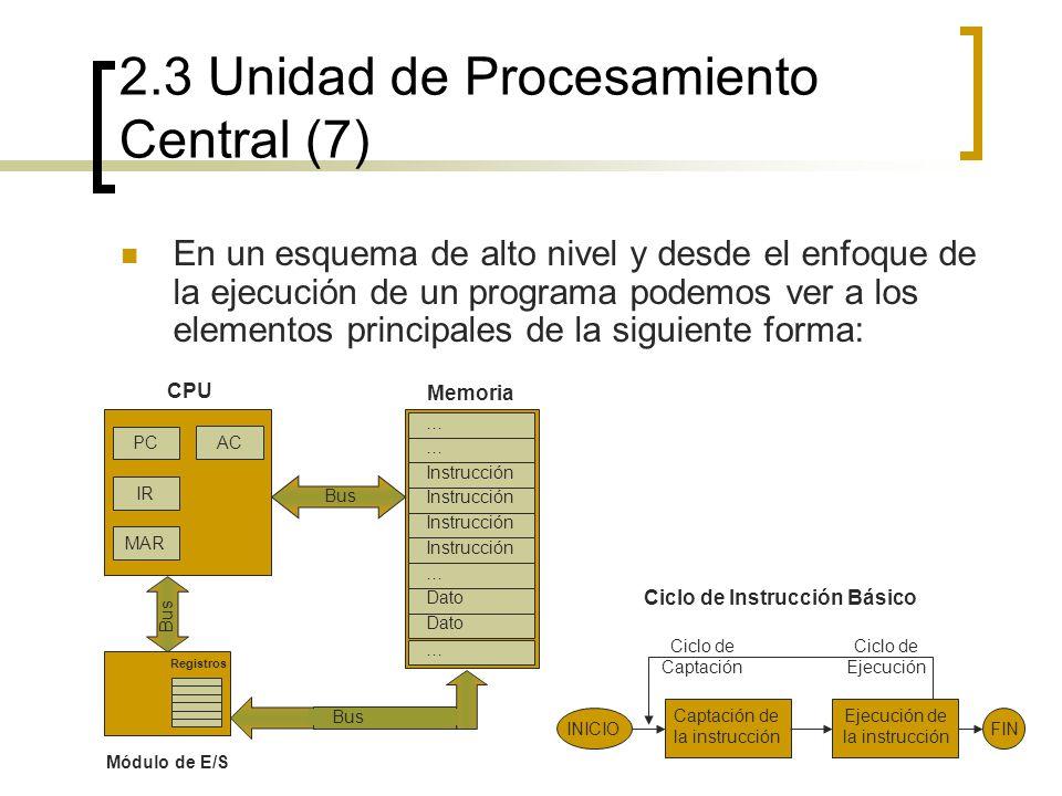 2.3 Unidad de Procesamiento Central (7)