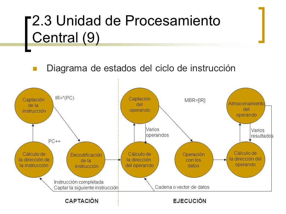 2.3 Unidad de Procesamiento Central (9)
