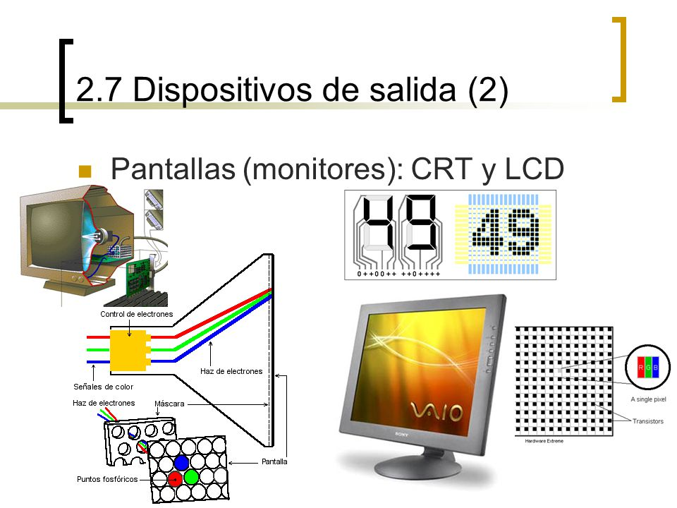 2.7 Dispositivos de salida (2)