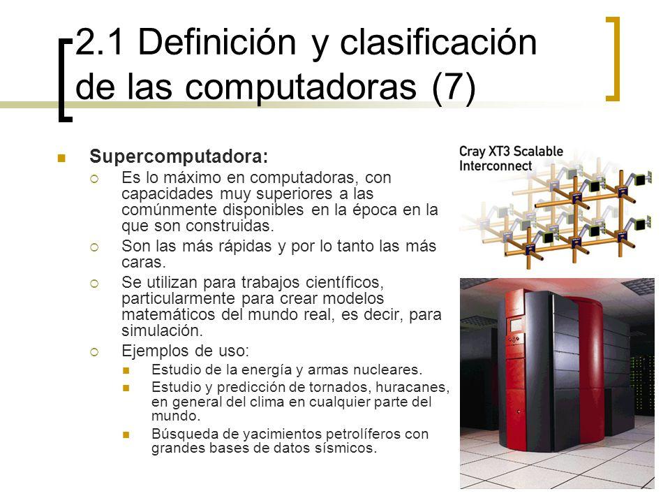 2.1 Definición y clasificación de las computadoras (7)