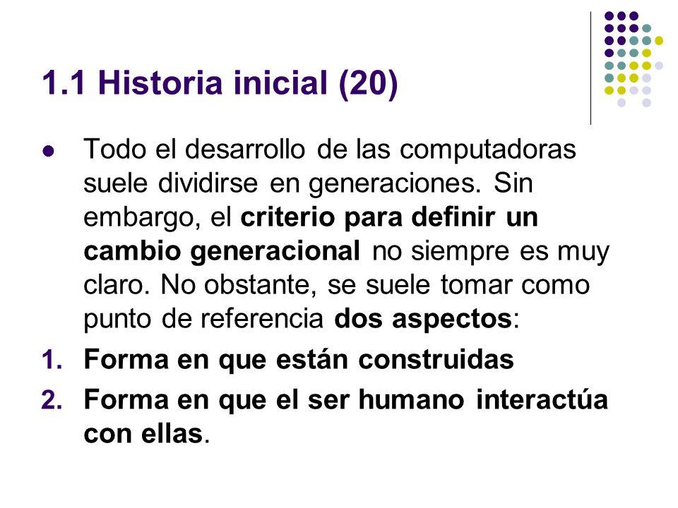 1.1 Historia inicial (20)